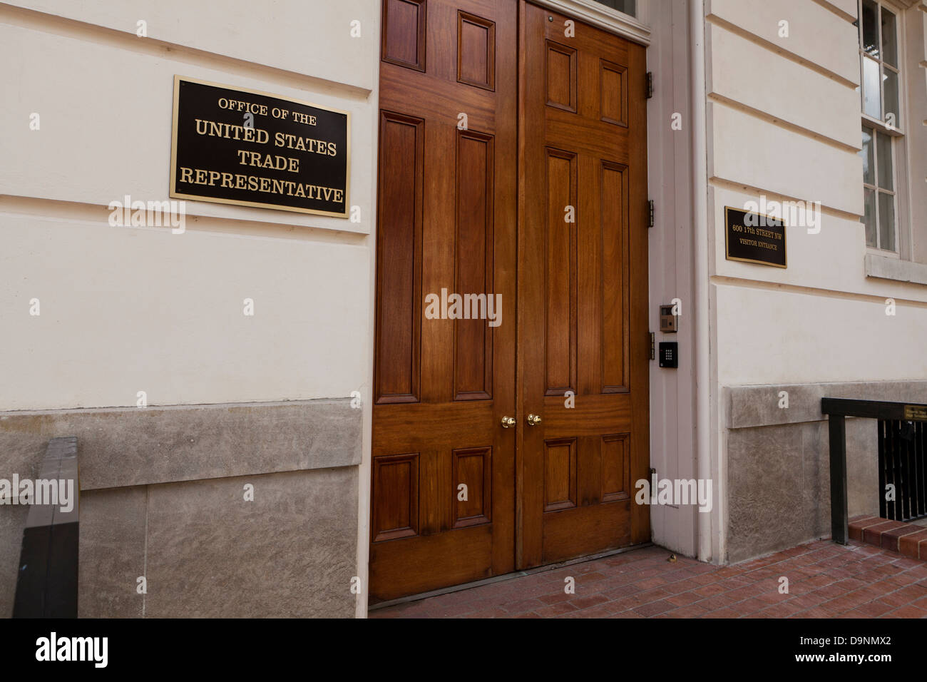 Rappresentante del commercio degli Stati Uniti ufficio - Washington DC, Stati Uniti d'America Immagini Stock