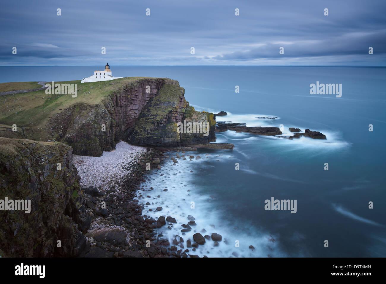Stoer Capo Faro, Sutherland, Scotland, Regno Unito Immagini Stock