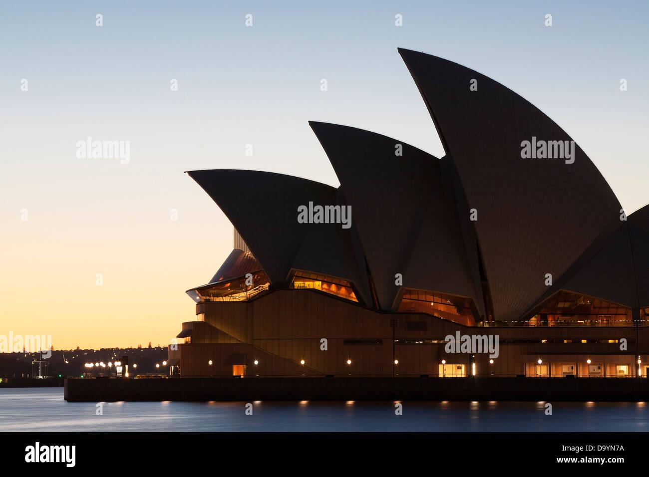 La Opera House di Sydney Immagini Stock