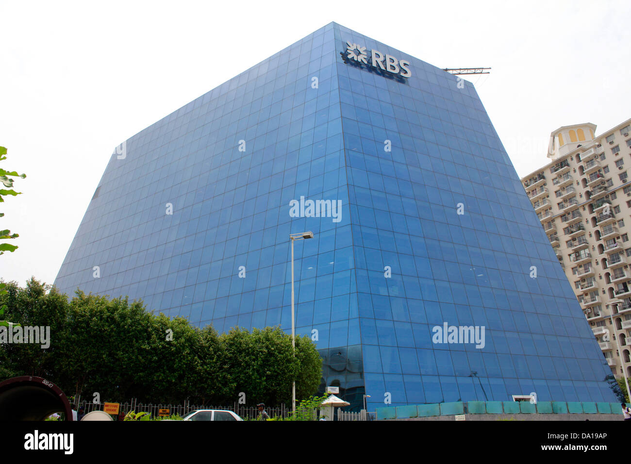 Corporate edifici per uffici a th DLF CYBER CITY, Gurgaon, regione NCR, India Immagini Stock
