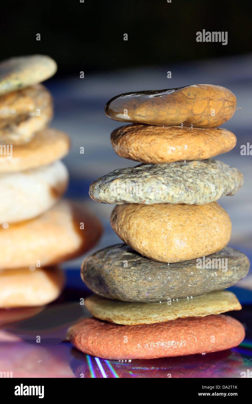 Si tratta di una composizione di pietra. Immagini Stock