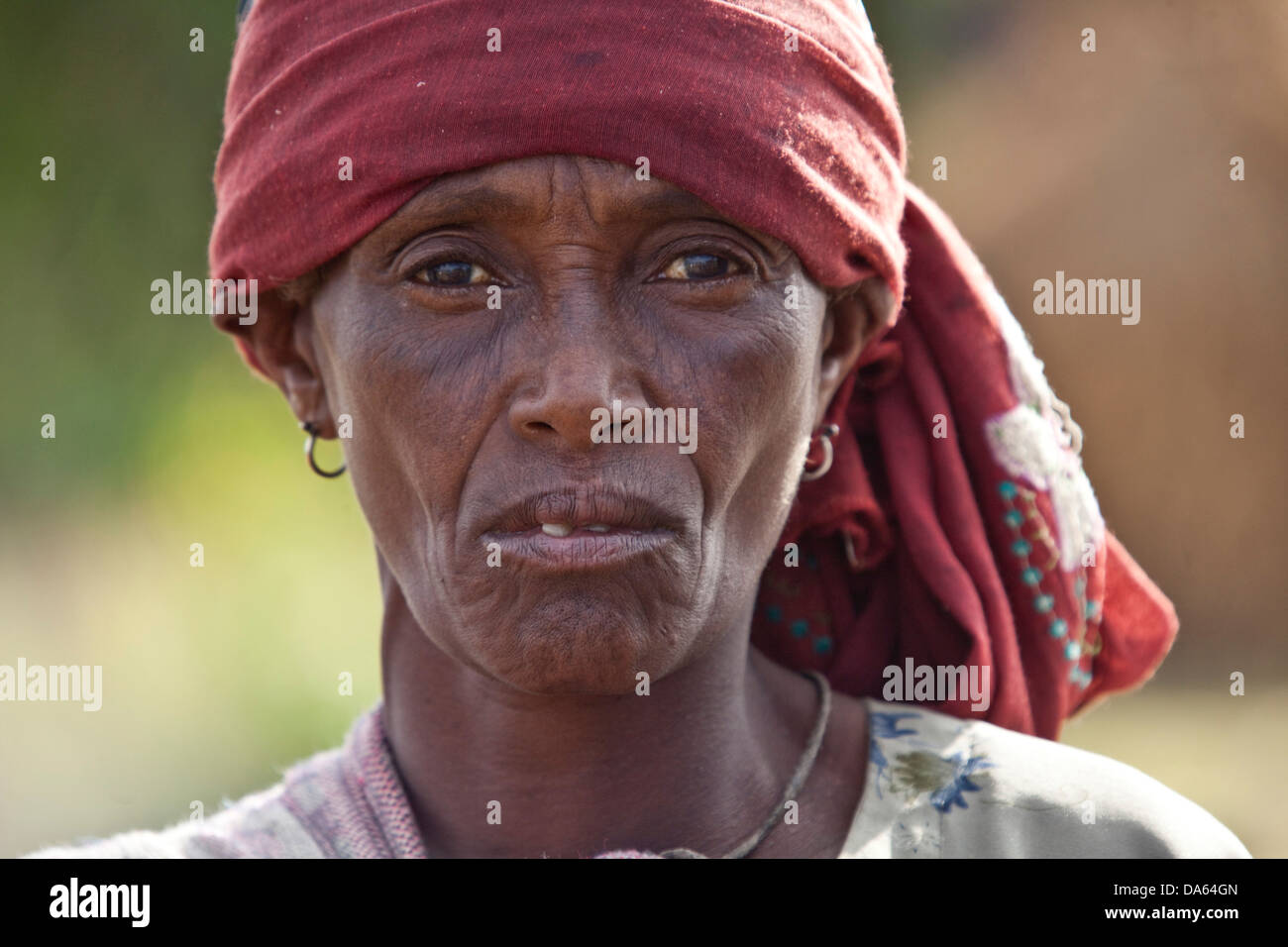 Persone, Oromo, Etiopia, tribù, Africa, donne, gruppo, Immagini Stock