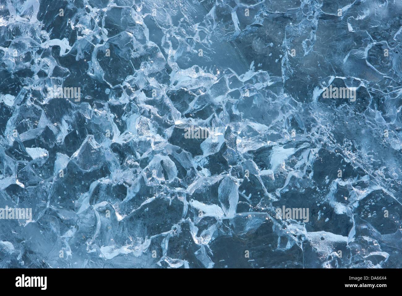 Ghiaccio, Groenlandia, est della Groenlandia, ghiacciaio, ghiaccio, struttura, concetti, Immagini Stock