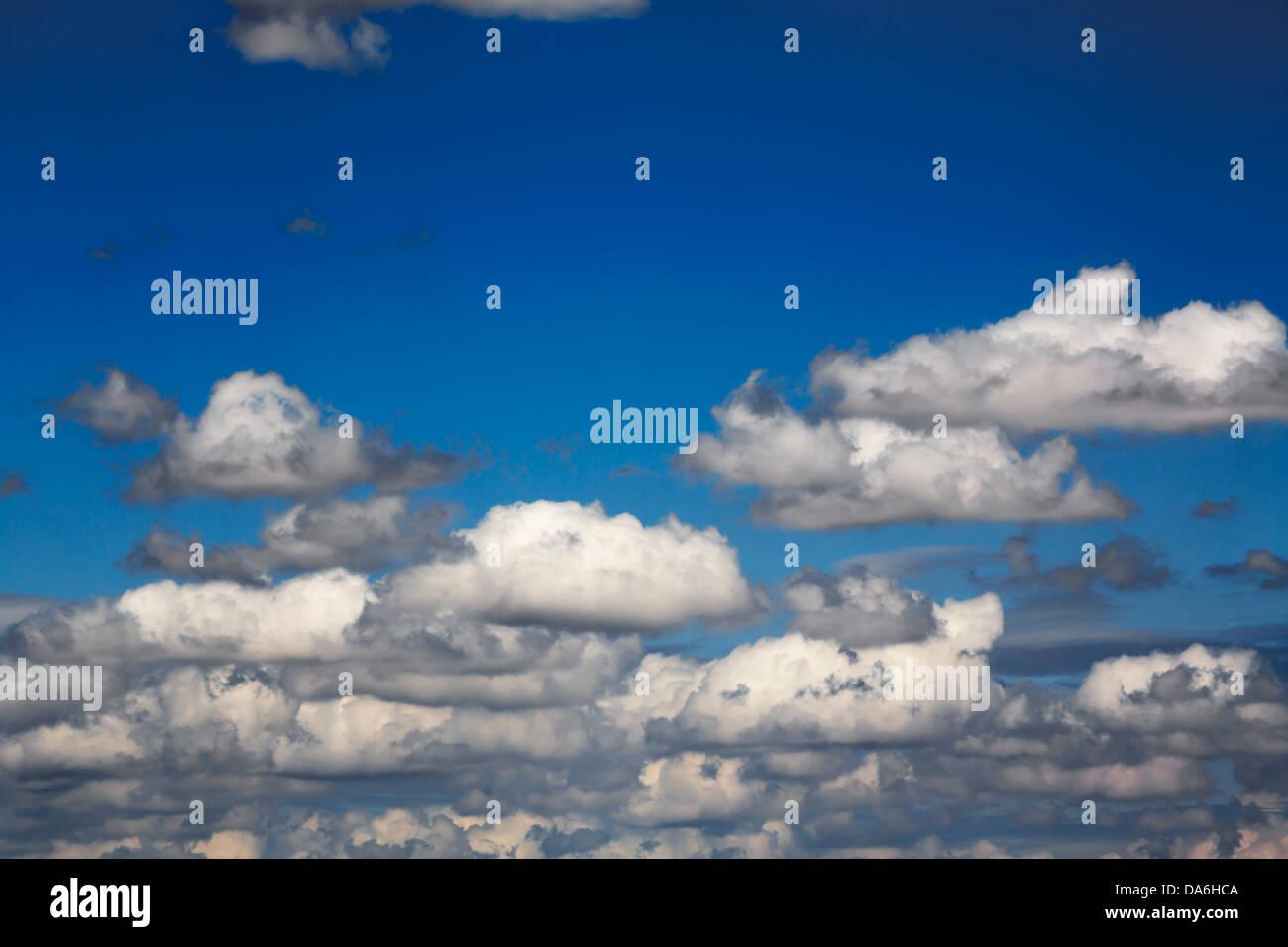 Blue sky nuvole cielo azul nubes Immagini Stock