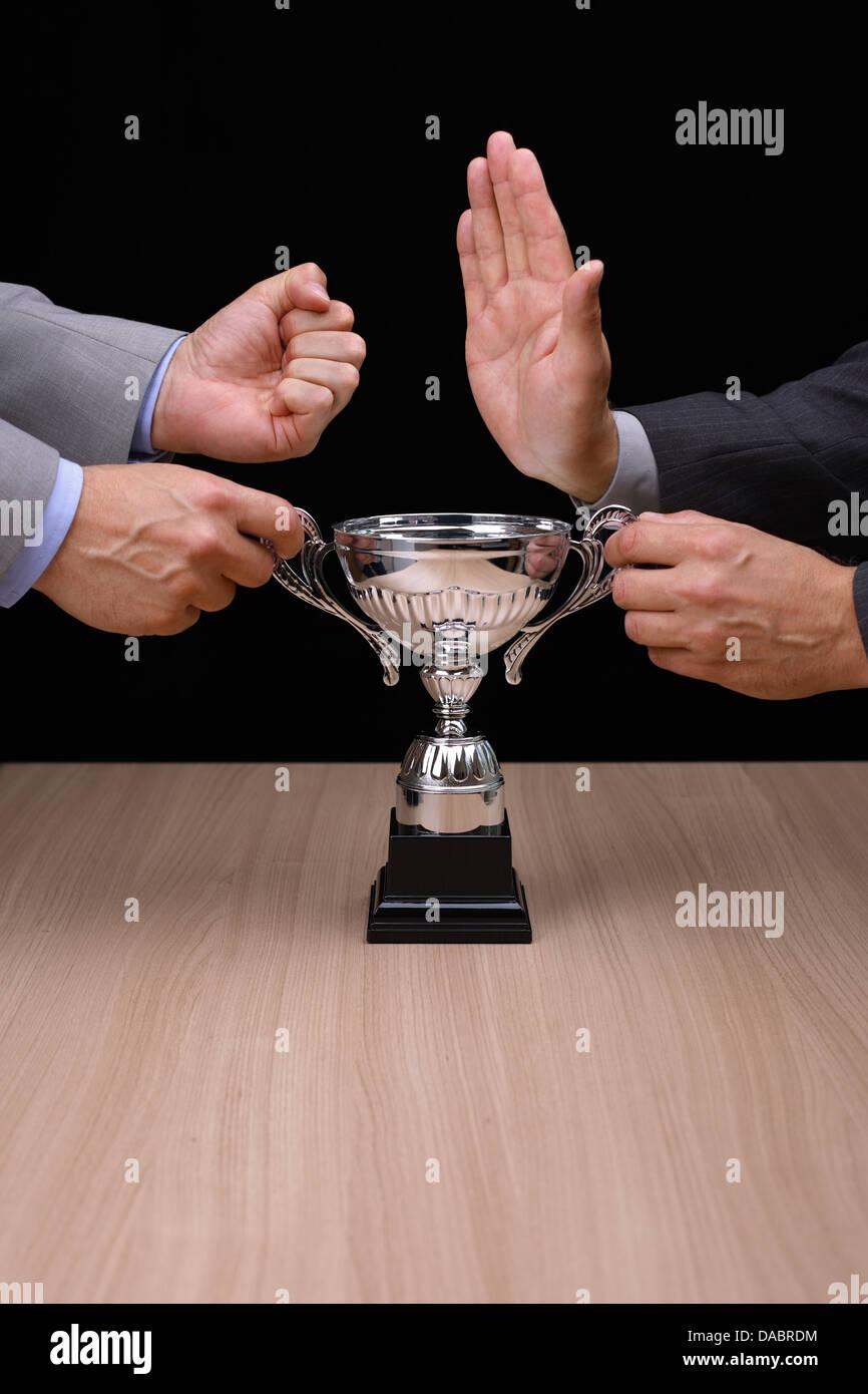 Concorrenza Immagini Stock