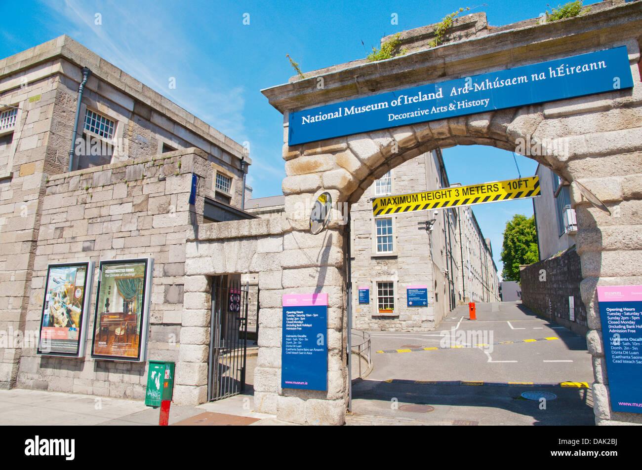 Museo nazionale delle arti decorative e storia Dublino Irlanda Europa Immagini Stock