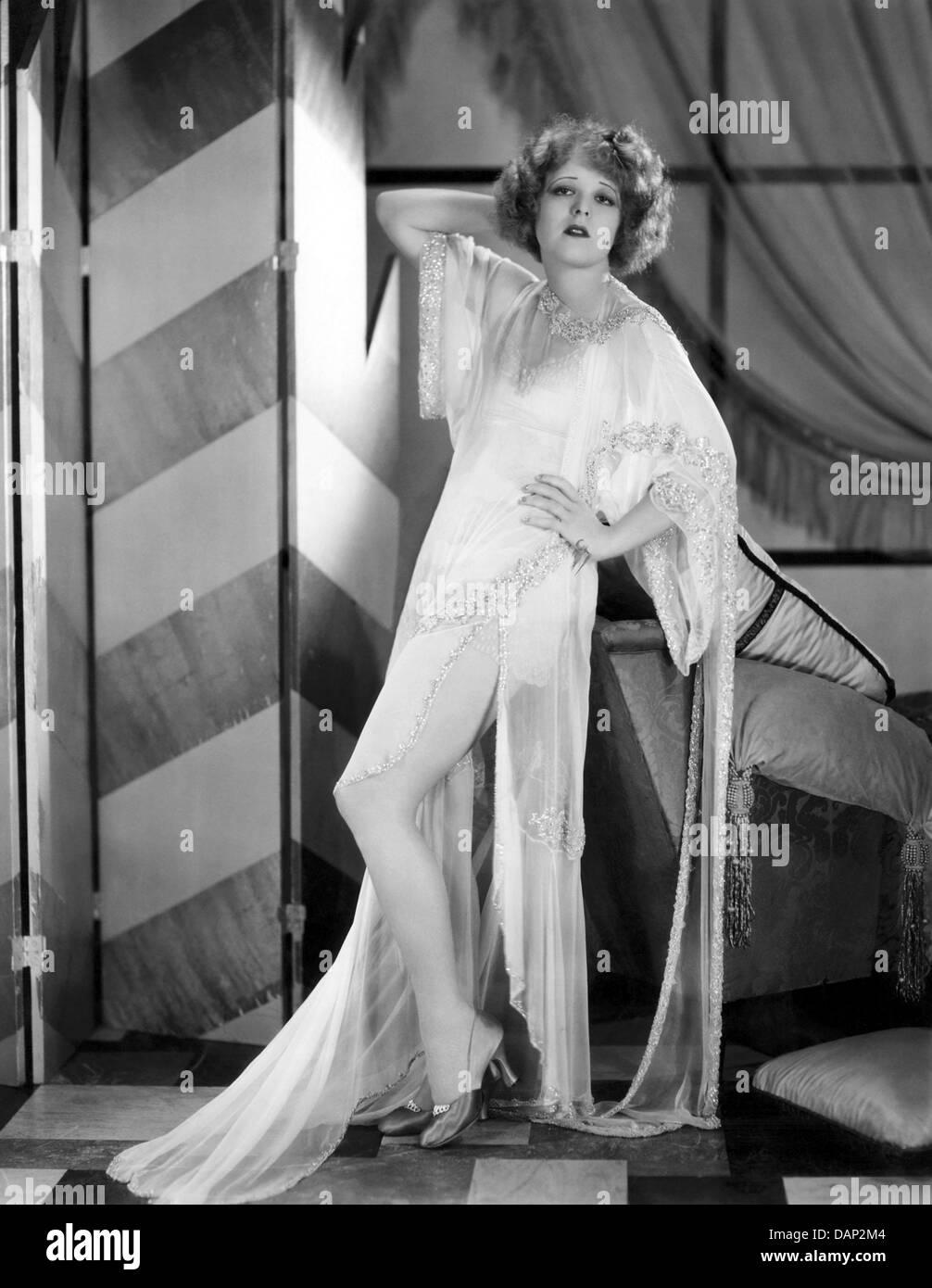 La sua prima notte di nozze 1930 film con Clara Bow Immagini Stock