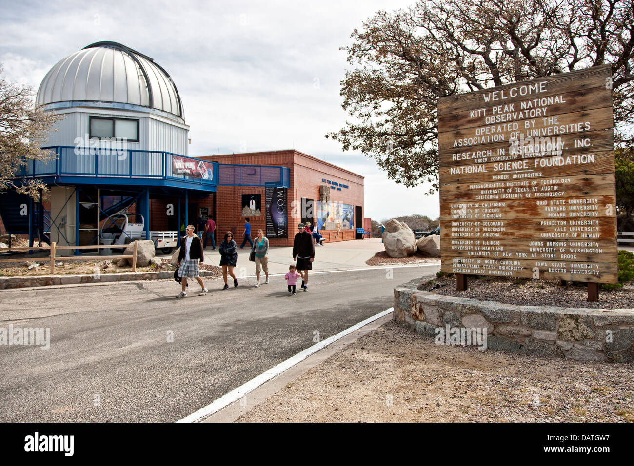Kitt Peak National Observatory 'KPNO' . Immagini Stock