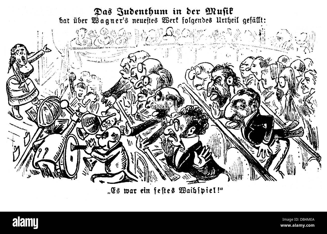 Anti semitic caricature immagini anti semitic caricature for Compositore tedesco della musica da tavola