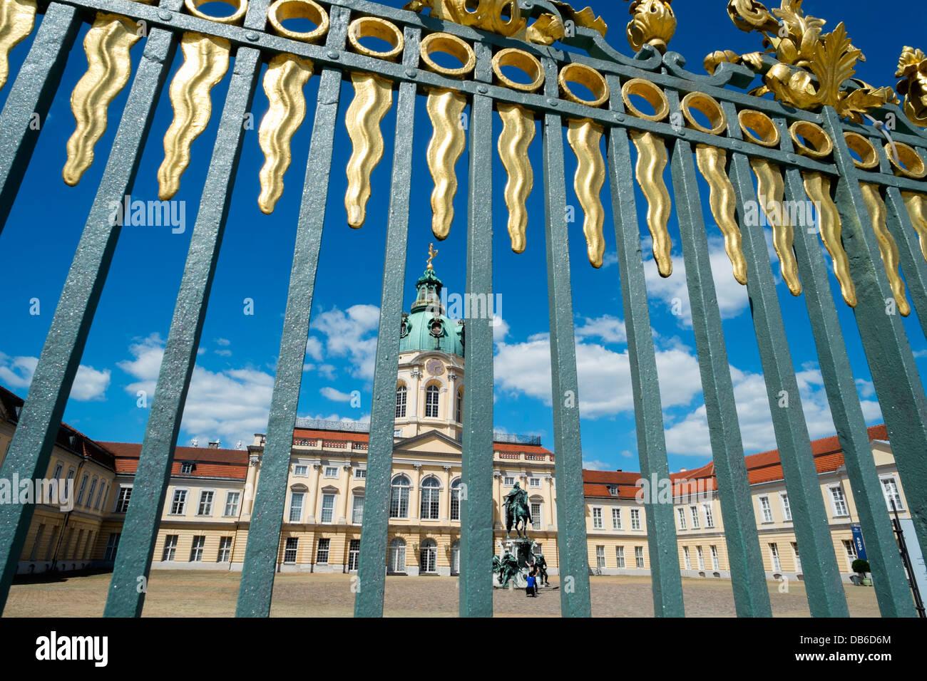Schloss Charlottenburg Berlino Germania Immagini Stock