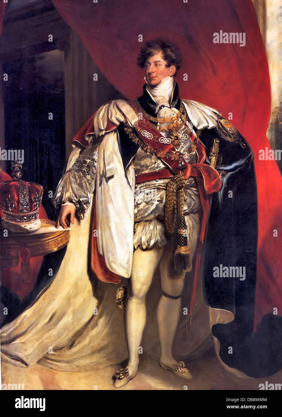 George IV Immagini Stock