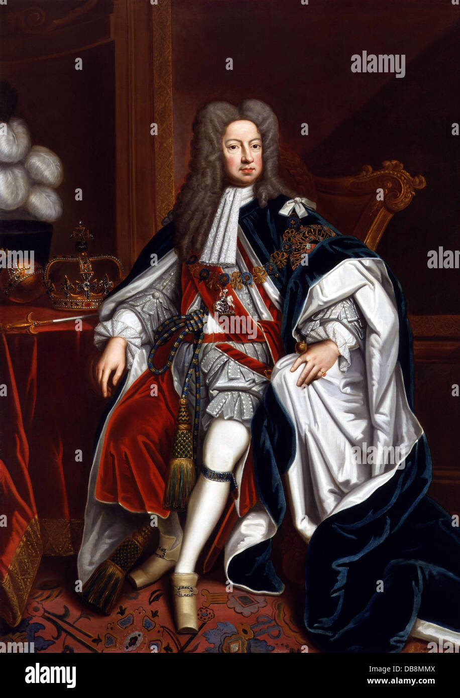 Re Giorgio I Immagini Stock