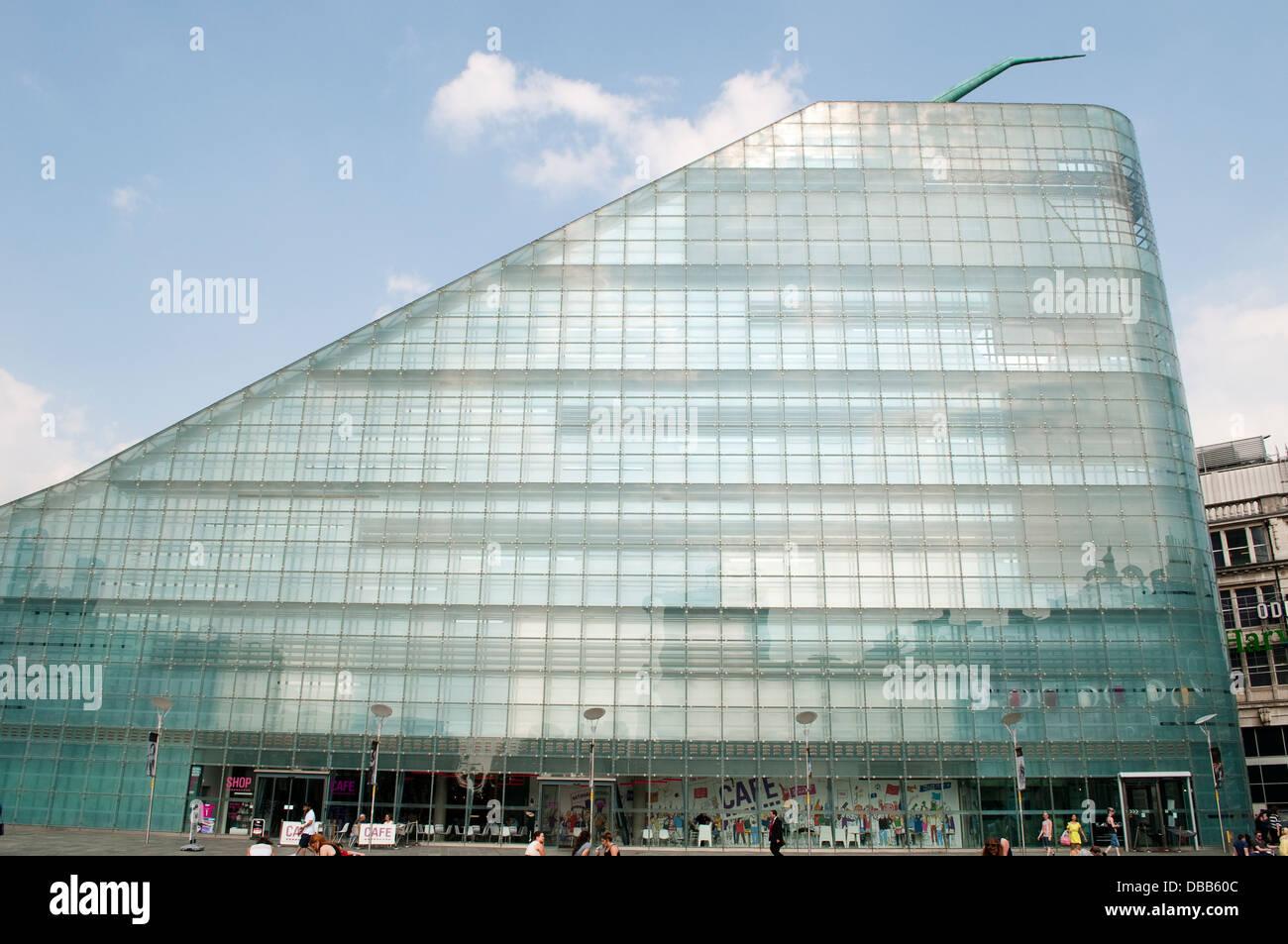 e5771e7259 Museo Nazionale del Calcio, Urbis edificio, Manchester, Regno Unito ...