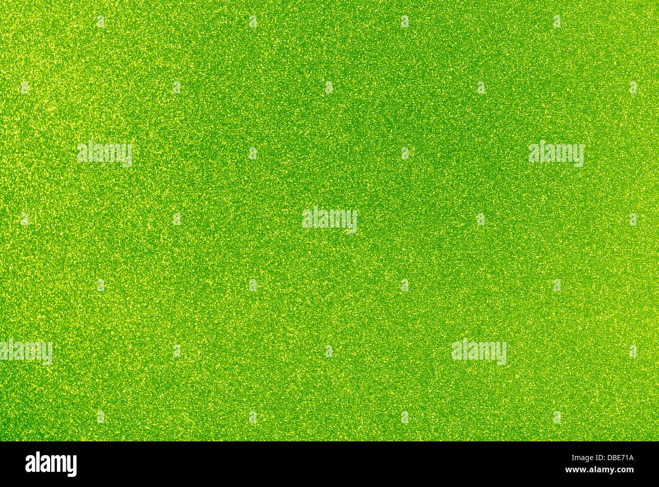 Riempito di sfondo con scintillante verde lime glitter Immagini Stock