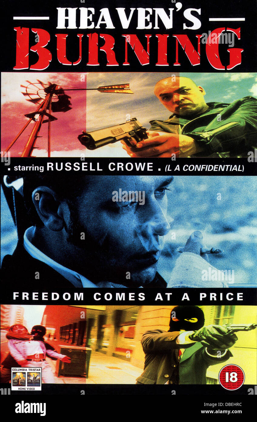 Cieli masterizzazione (1997) poster, craig lahiff (dir), EB 001 collezione moviestore ltd Immagini Stock
