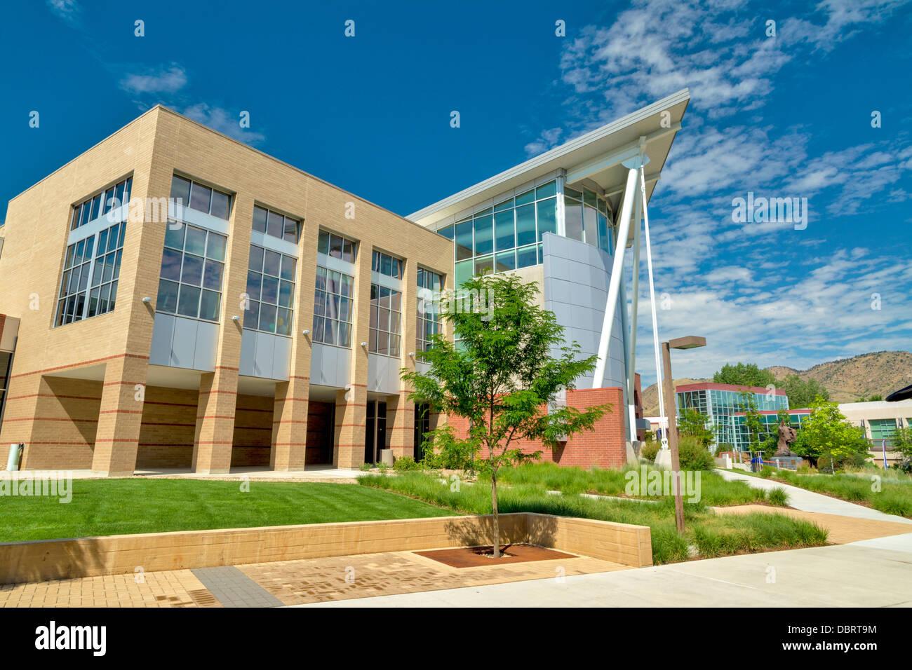 Impianto sportivo a Colorado School of Mines Immagini Stock