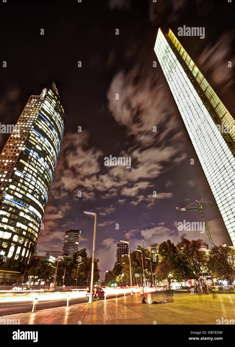La foto è stata scattata in Città del Messico Immagini Stock