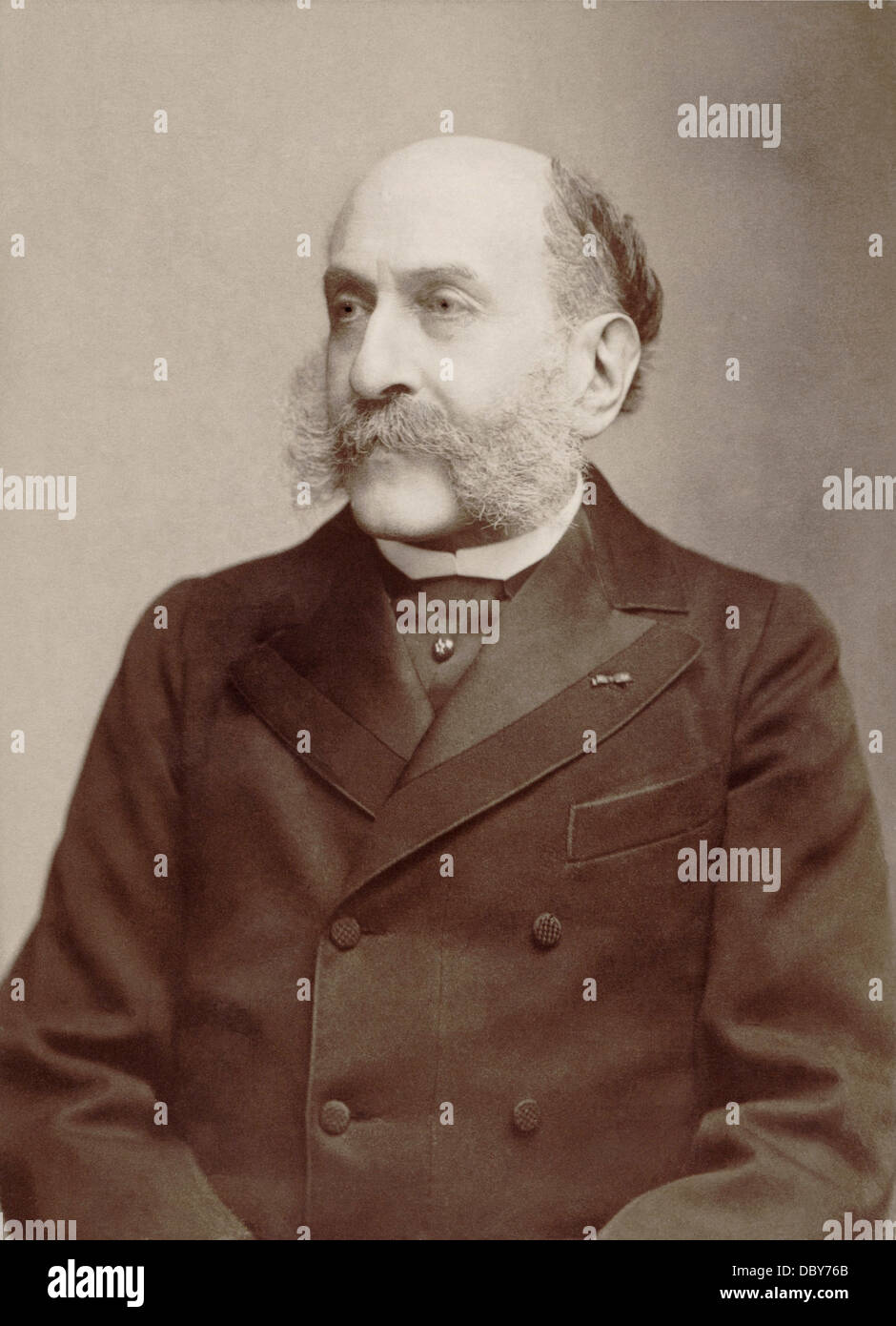 Georges Mathias (1826 - 1910), francese pianista e compositore. Foto Stock