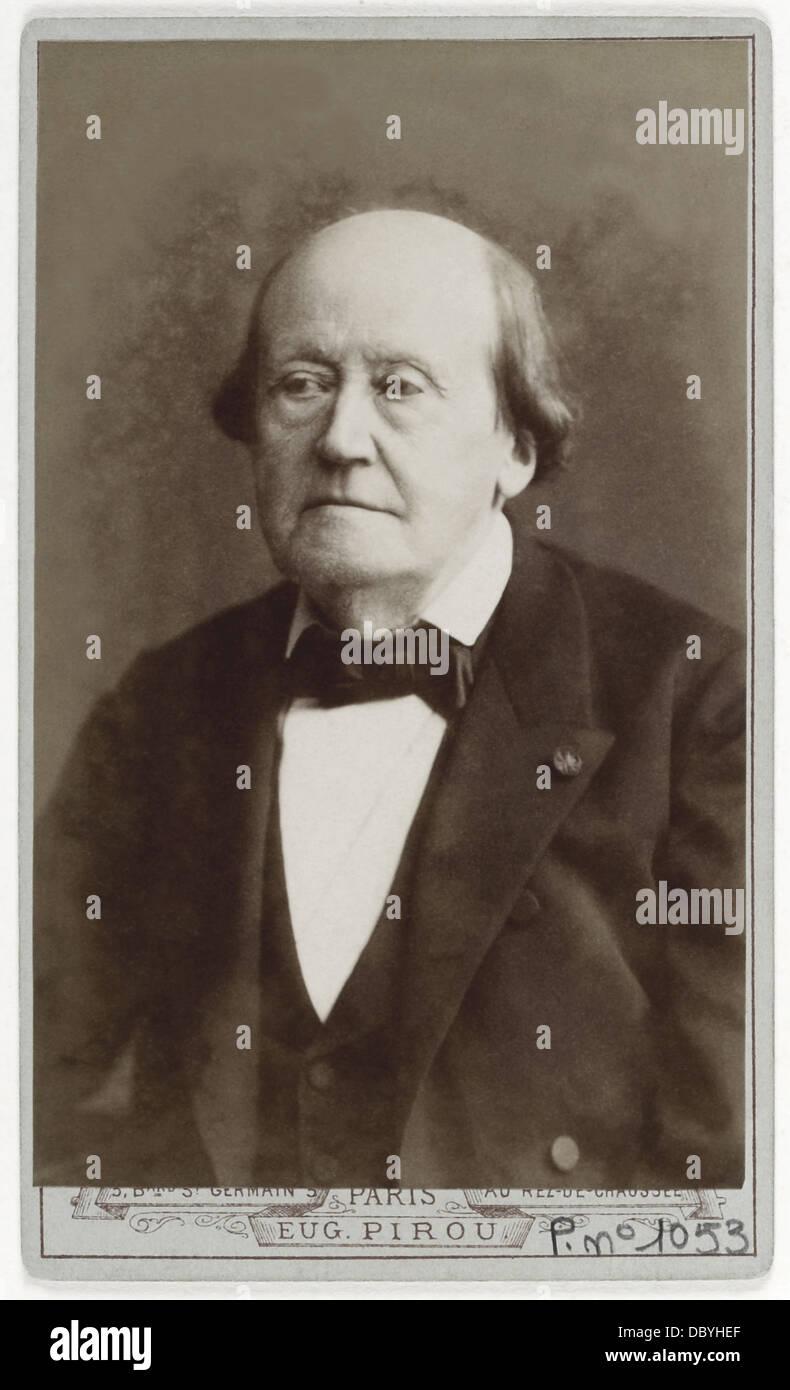 Henri Milne Edwards (1800-1885), francese medico naturalista e biologo, professore presso il Muséum National Immagini Stock