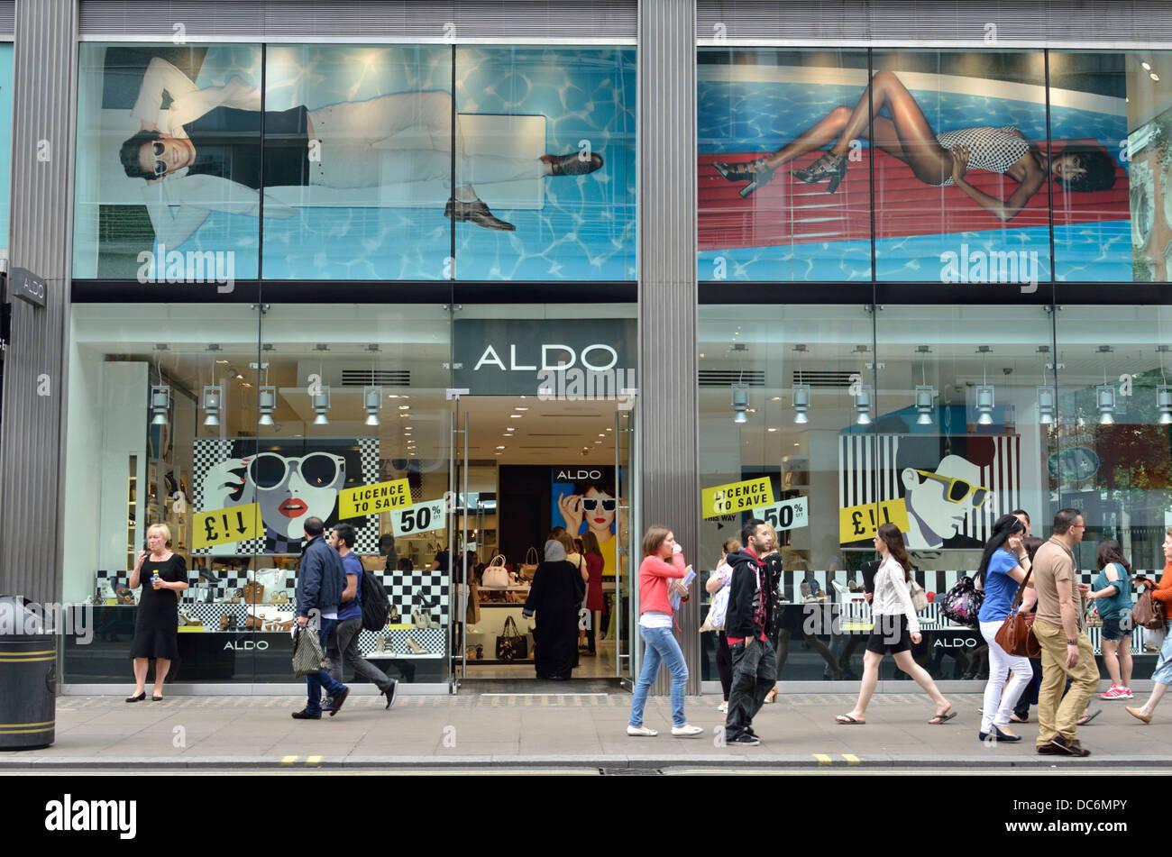 best cheap 6c959 0d6e6 Aldo scarpe e accessori in negozio in Oxford Street, Londra ...