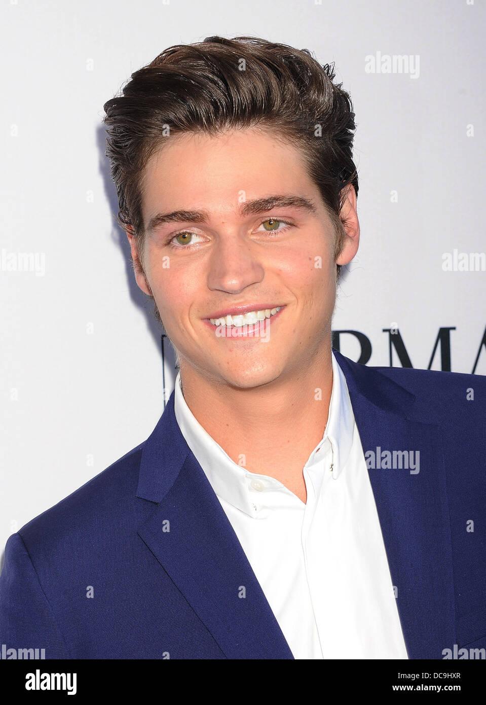 Sarà ci PELT attore di cinema in agosto 2013. Foto di Jeffrey Mayer Immagini Stock