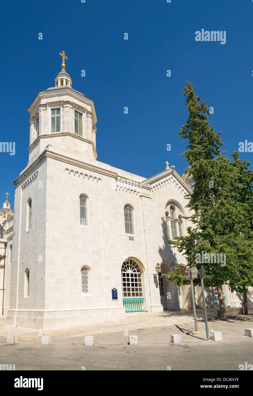 Chiesa russa in Gerusalemme città vecchia Israele Immagini Stock