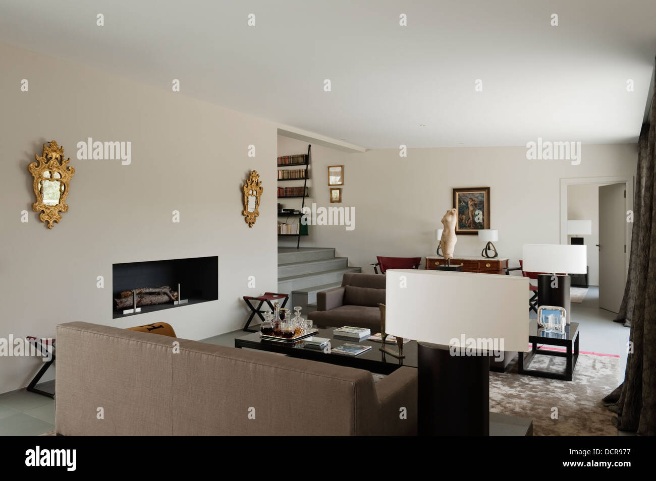 Arredamento Moderno Casa : Arredamento moderno di casa di vacanze in provenza progettato e