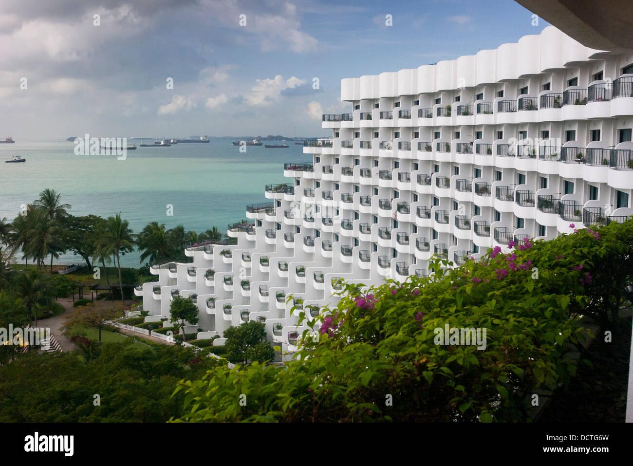 Shangri La Rasa Sentosa Resort Hotel Immagini Stock