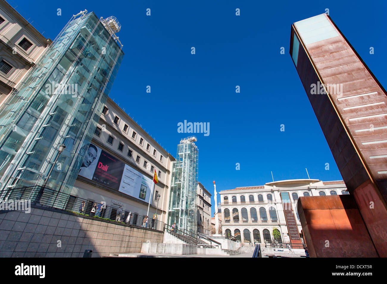 Madrid, Museo Nacional Centro de Arte Reina Sofia Immagini Stock