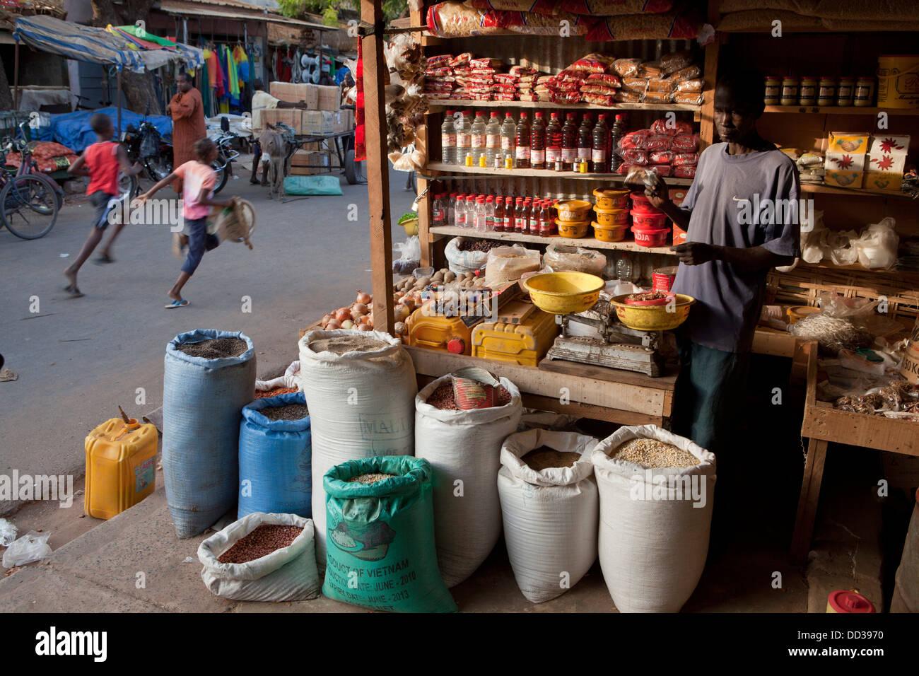 Kolda, Senegal Africa Occidentale. Immagini Stock