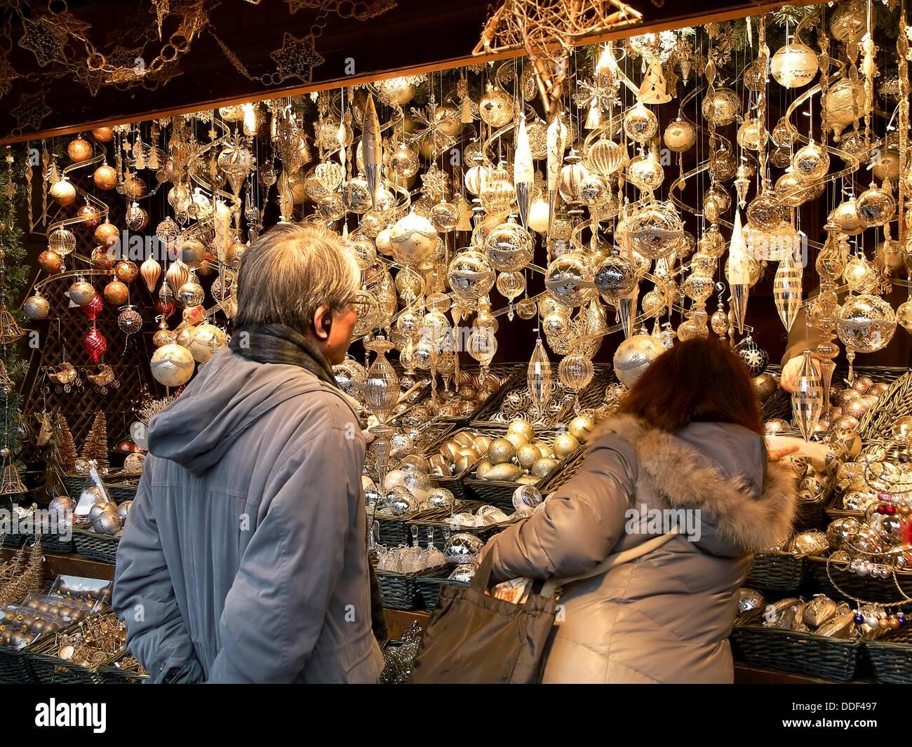 -Natale' sfere- Immagini Stock