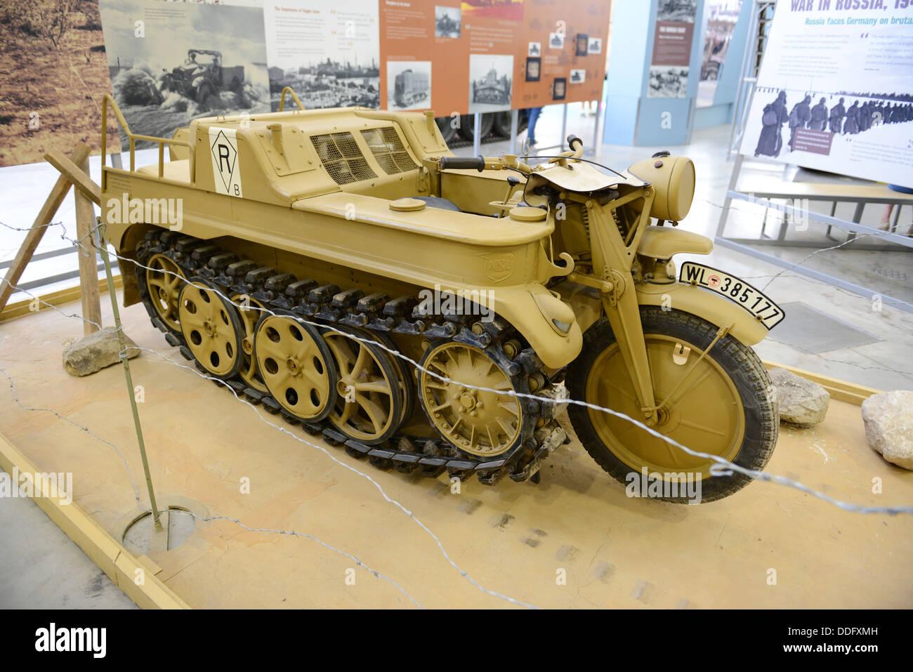 Il Tedesco SdKfz 2 O Kleines Kettenkraftrad HK 101 Kettenkrad Motociclo A Mezza Via Veicolo Militare