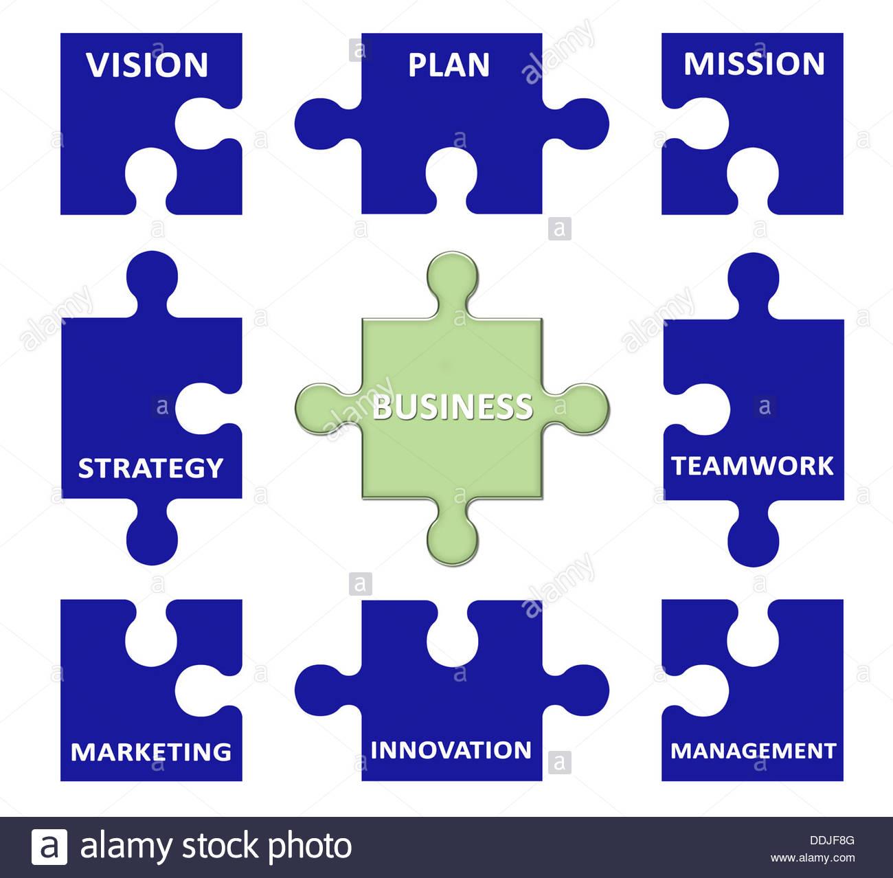 Il concetto di business Immagini Stock