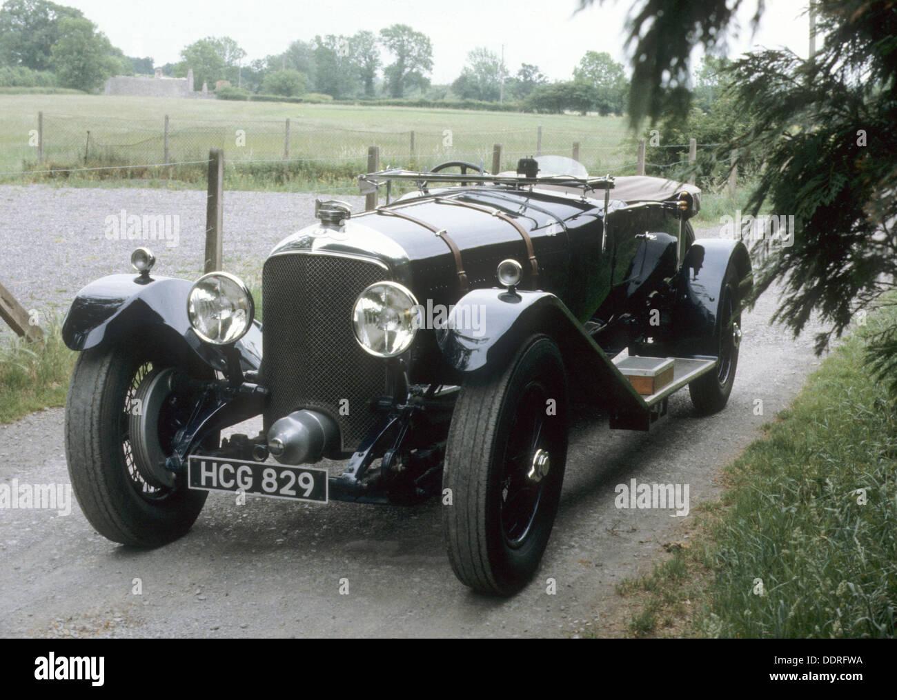 Il 1930 Bentley 8 litro Immagini Stock