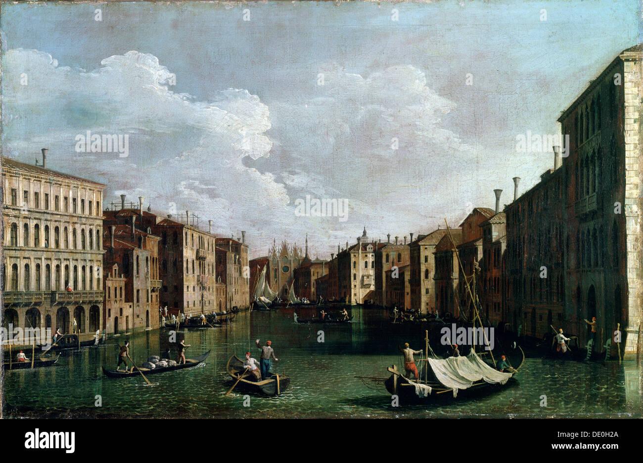 """""""Venezia"""", XVIII secolo. Artista: Canaletto Immagini Stock"""