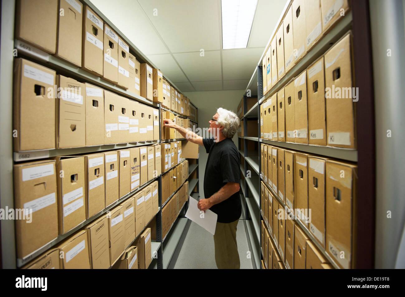 Holland-Breda. 23-10-12. Archivio di una scuola. Foto: Gerrit de Heus Immagini Stock
