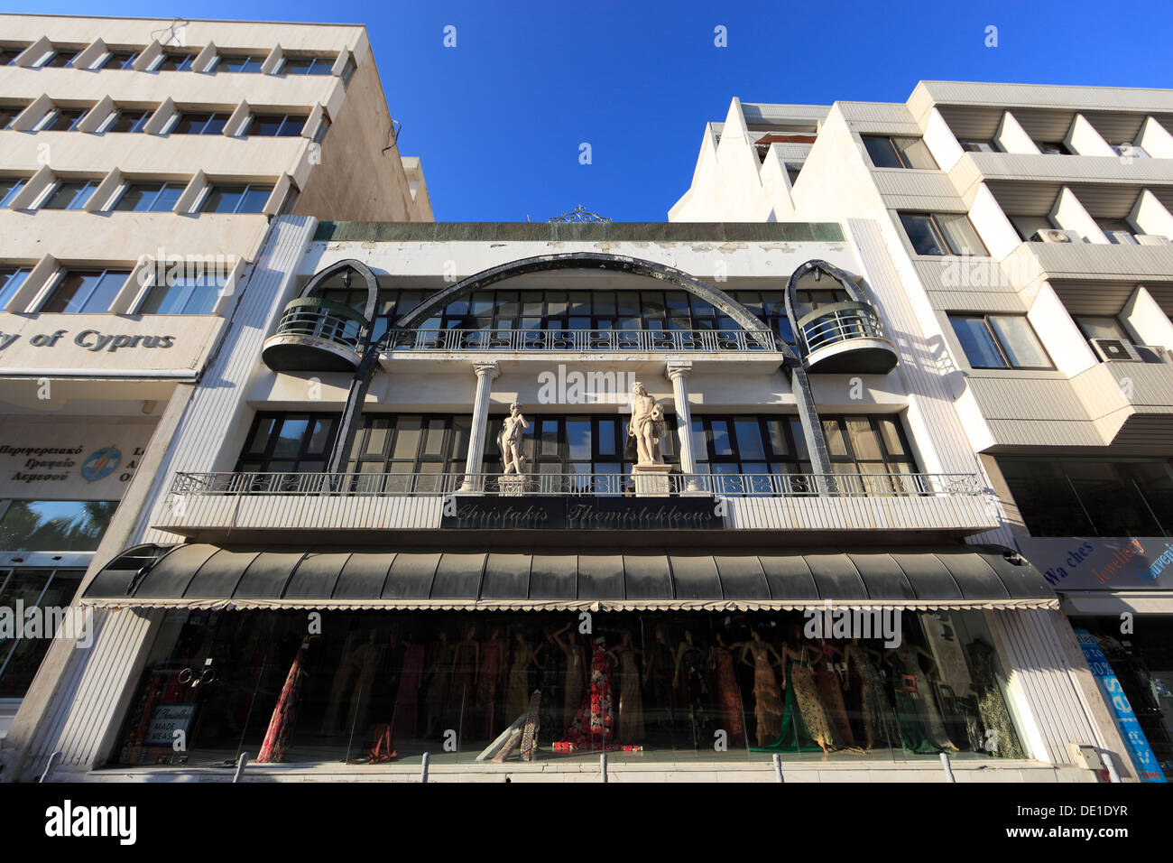 Cipro, Limassol, Lemesos, casa, Residenziale Immagini Stock