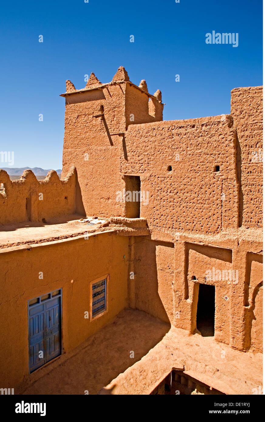 Geografia / viaggi, Marocco, liquidazione dei berberi, Tighremt, Additional-Rights-Clearance-Info-Not-Available Immagini Stock