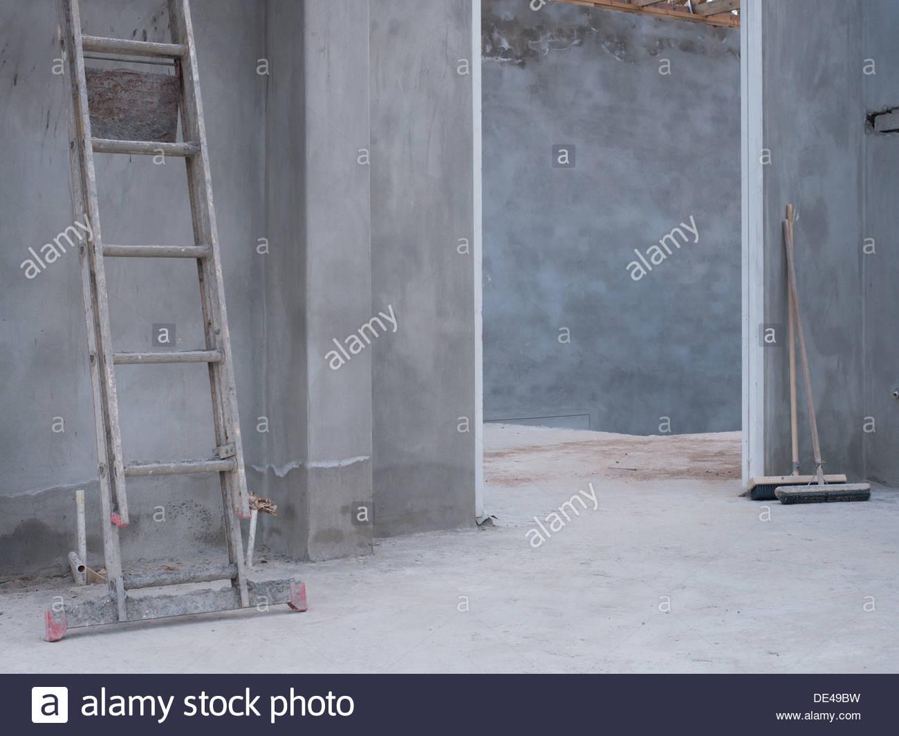 Casa in costruzione Immagini Stock