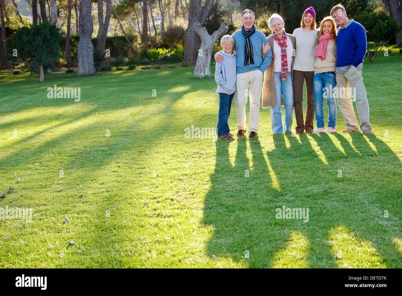 Famiglia Immagini Stock