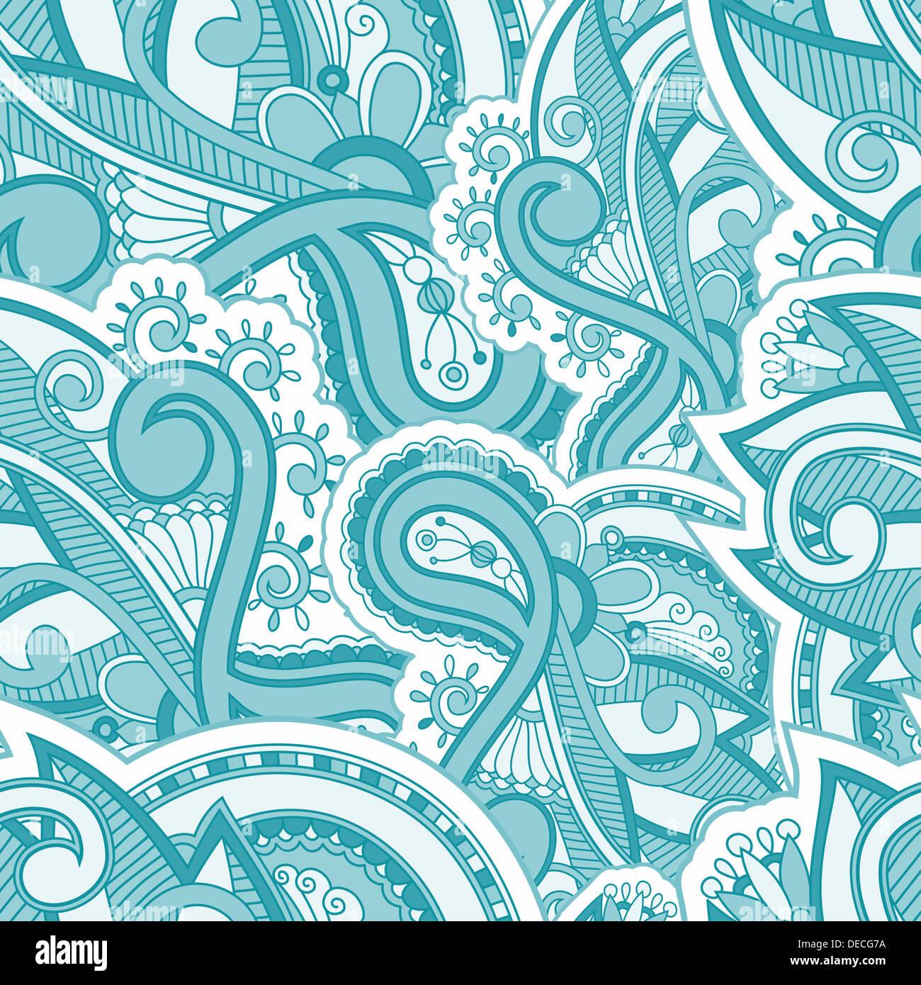 Seamles floreale disegno vettoriale Immagini Stock