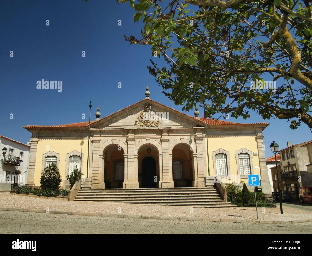 Corpo da Guarda principale. Almeida, pueblo medievale. Il Portogallo. Immagini Stock