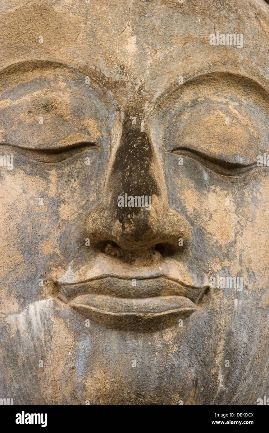Il Buddha portret al Sukhothai sito storico Immagini Stock