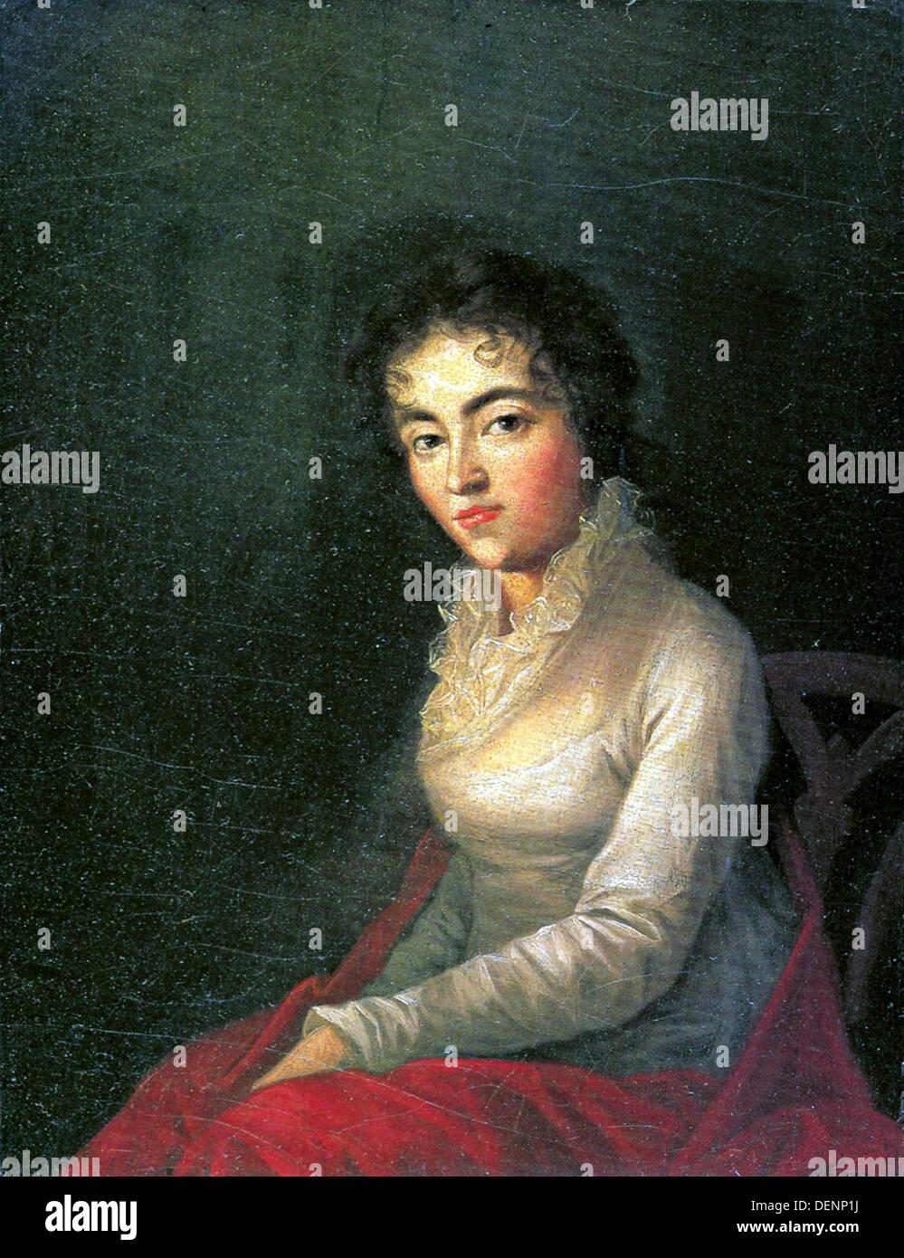 Constanze Mozart Immagini Stock