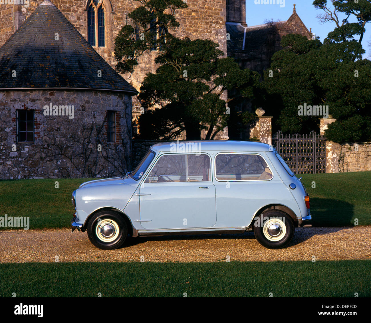 1959 Austin Mini 7 Immagini Stock