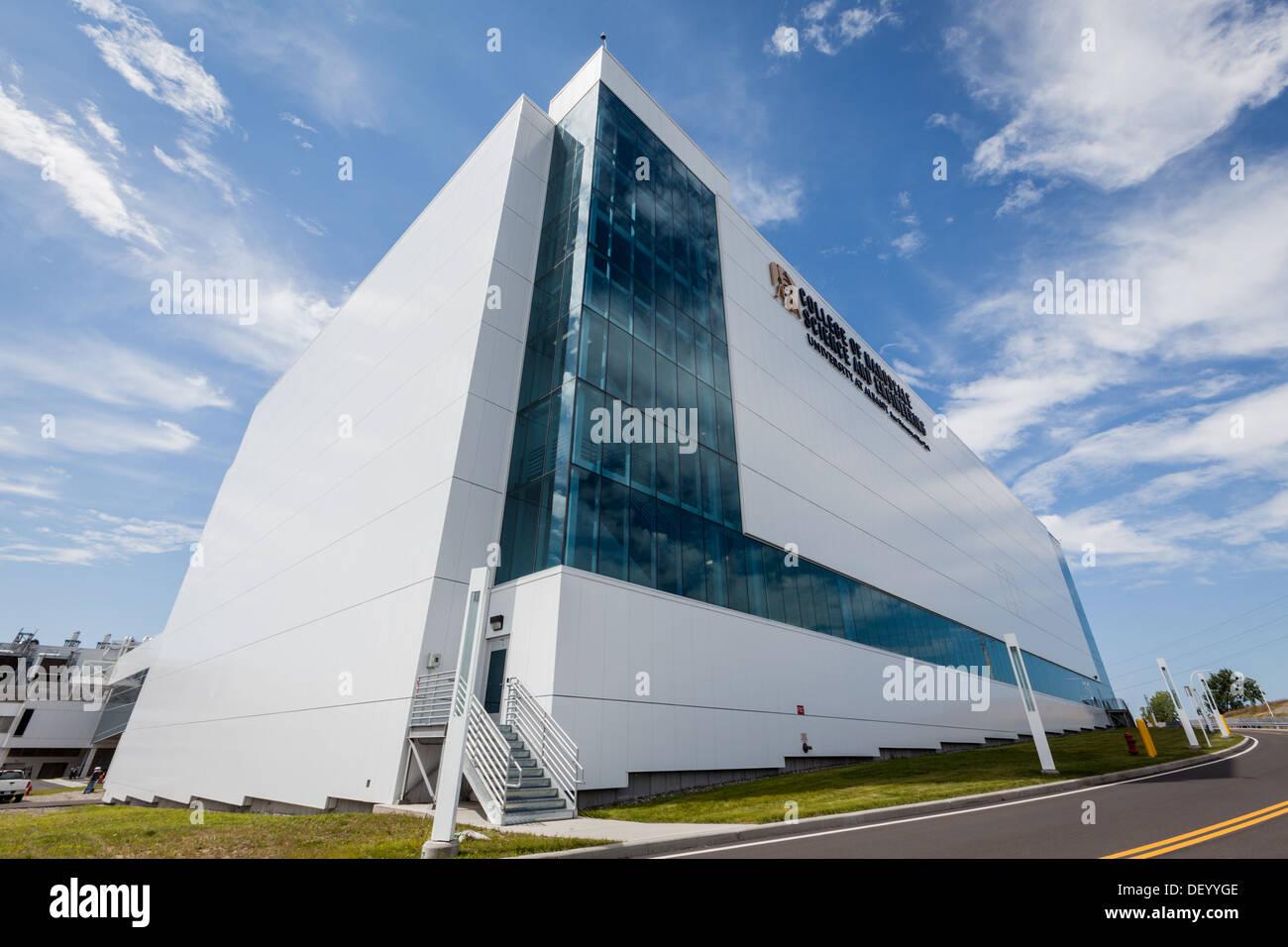 College di Nanoscala la scienza e l Ingegneria, SUNY Albany, nello Stato di New York Immagini Stock