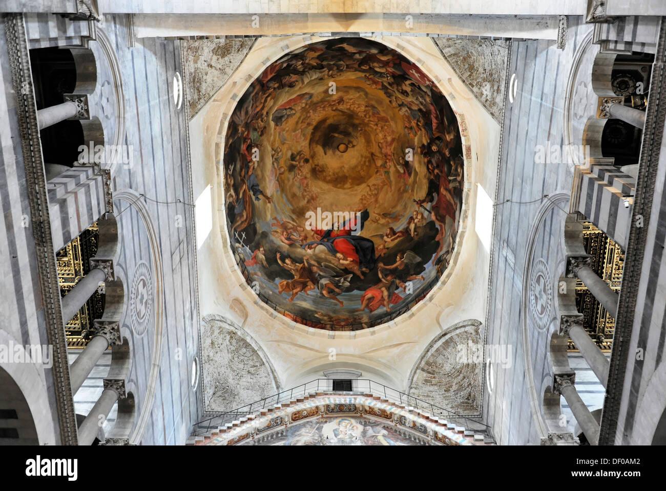 Soffitto A Volta Affrescato : I soffitti a volta soffitto dipinti affreschi duomo di pisa