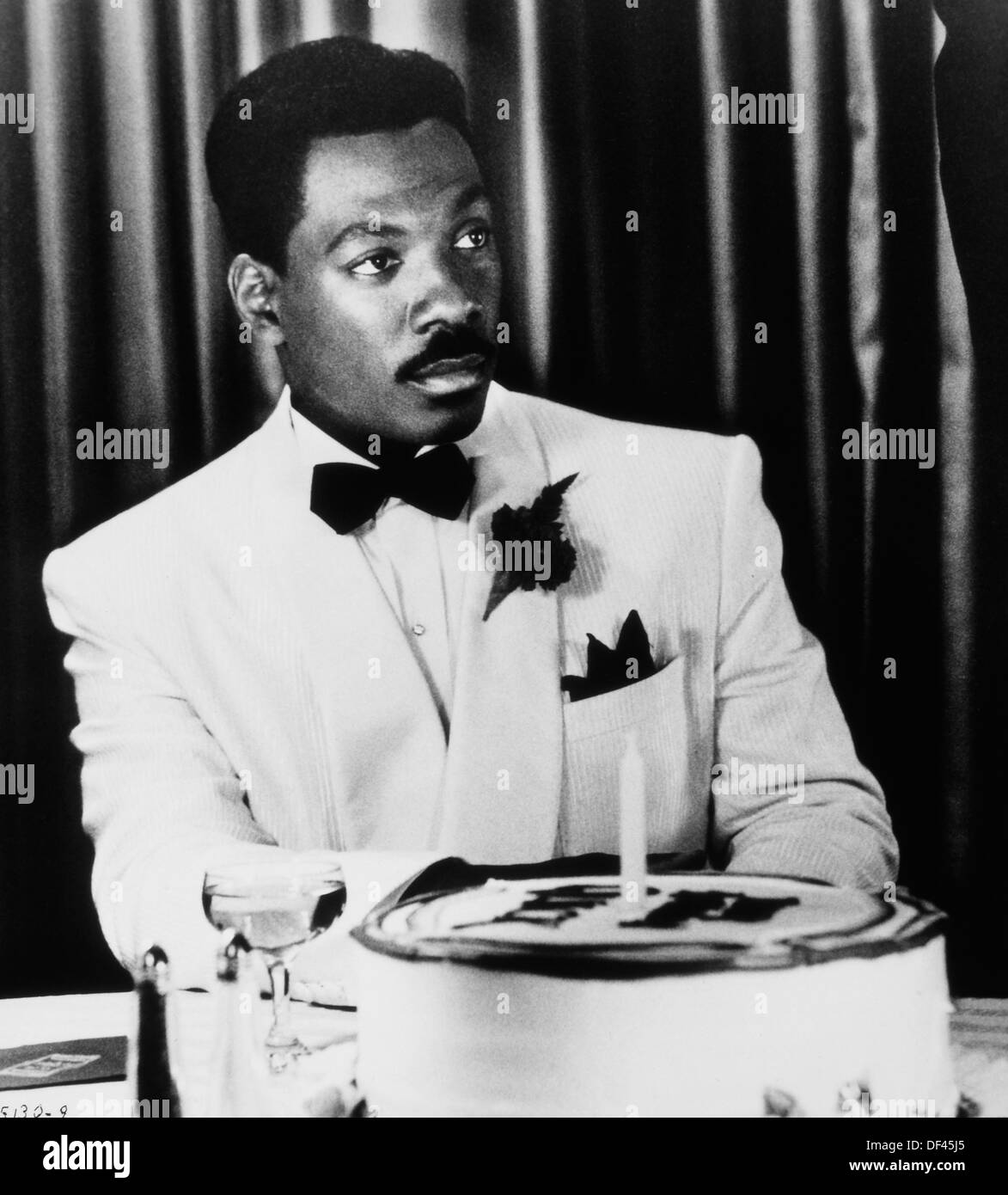 "Eddie Murphy, sul set del film ""Harlem Nights', Eddie Murphy Productions, Paramount Pictures, 1989 Immagini Stock"