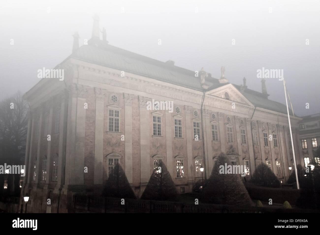 Casa svedese di nobiltà, Riddarhuset, Stoccolma, Svezia Immagini Stock