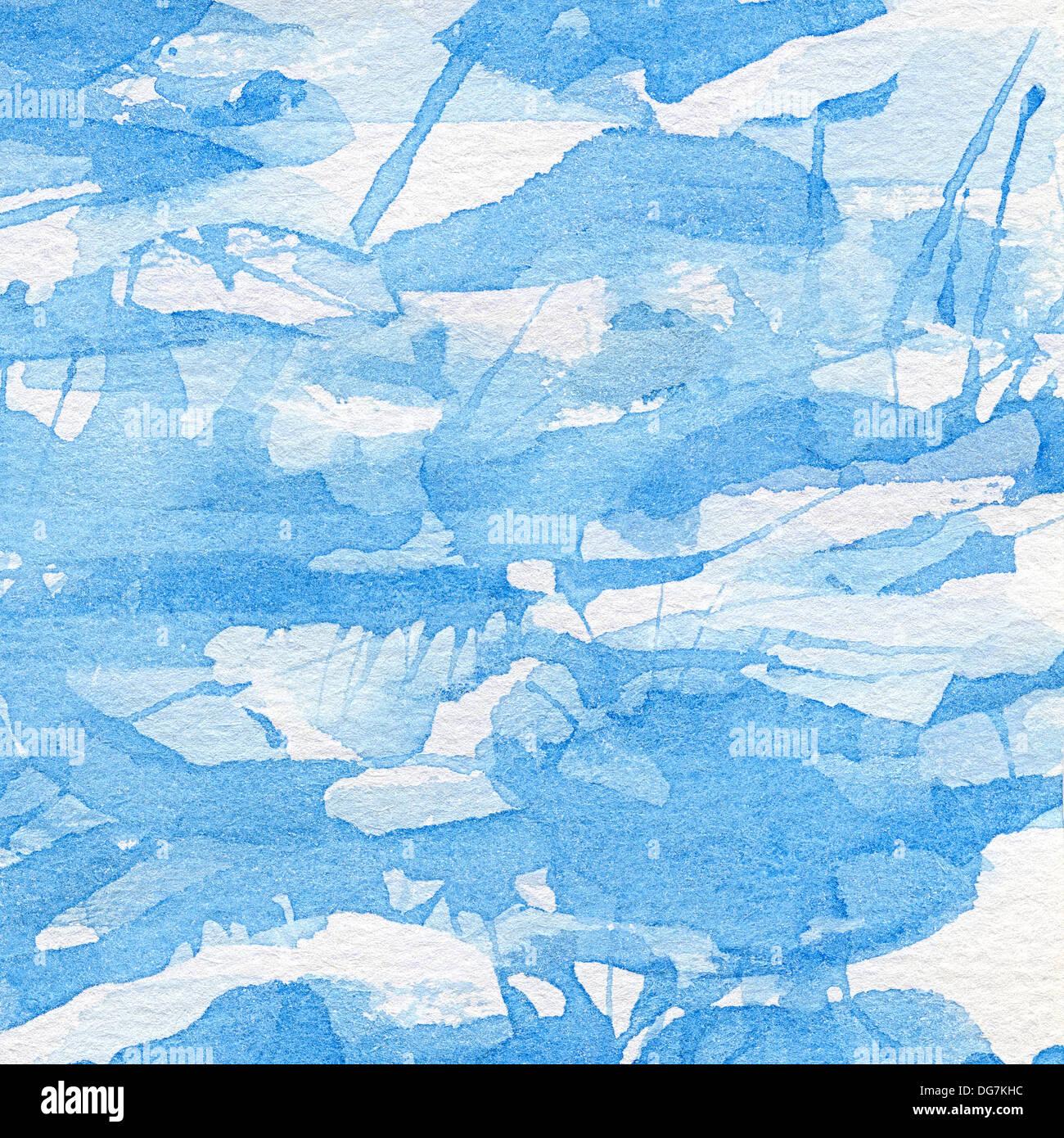Abstract acquarello dipinto a mano sullo sfondo. Immagini Stock